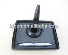 Black Magic Plastic Ball Pen With Magnet Tip