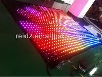 led star cloth vedio displaying, animation, dynamic graphics, texts displaying
