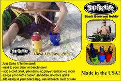 Spiker Beach Beverage Holder