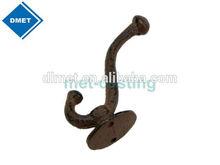 Cast iron coat hooks