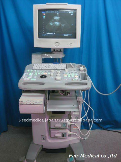 Utiliza escáner de ultrasonido aloka ssd-3500 con prosound doppler color de la pantalla