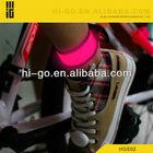 Promotional Nylon LED Flashing Snap On Bracelet