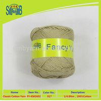 shanghai cotton factory wholesale 100% combed cotton knit
