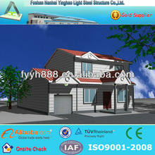 economic cost and permanent living prefabricated villa