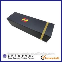 cardboard paper wine carrier gift box