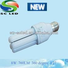 8W CRI Ra 80 LG sourcing E27 led bulb