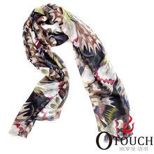 china blue fashion chiffon scarf tudung