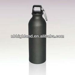 700ml black aluminum water bottle