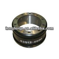 heavy-duty trailer brake drum and auto part 43512-4690