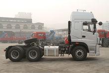 Double Rear Axle Tractor Trailer Model Truck