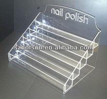 2014 POP Multi-layers acrylic nail polish display stand