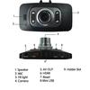 "4 IR LED 2.7""TFT display 120 degree car driving video recorder"