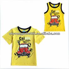 100 Polyester Fashion Children Tshirts