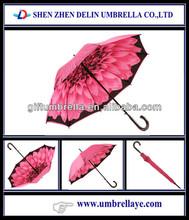All good pretty pink flower umbrella