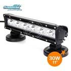 Combination lens and reflector IP67 spotlight 5W led offroad bull bar led light bar