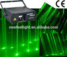 60mw green rain laser curtain stage laser lighting