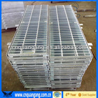 Hot dip galvanized drainage cover grating, trench cover grating, drain cover grating