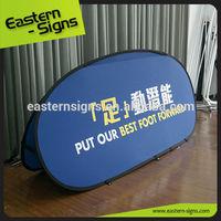 Advertising Horizontal Pop Up Golf Banner