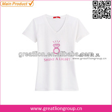 Girls fashion sexy short sleeves t-shirt