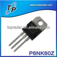 Chinese exporters agent P6NK60Z npn+transistor+de+potencia wholesale market