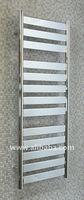 Ruthin Designer Heated Towel Rail / Radiator / Warmer / Rack - Flat Panel Chrome