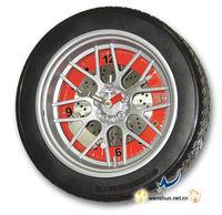 Special Spring Tire Clock