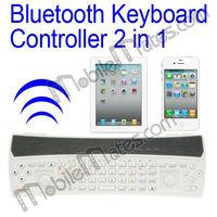 Ipega Bluetooth Gamepad for iPad Mini Android, Joystick Controller + Mini Bluetooth Keyboard for Google Nexus 4, etc