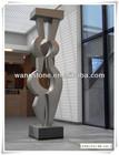 Unique outside art sculpture stainless steel sculpture