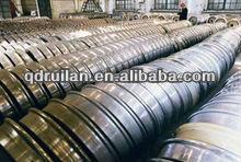 railway casting wheel for sales , train wheel , railway spare parts