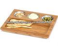 bambú mascota bandeja de alimentos