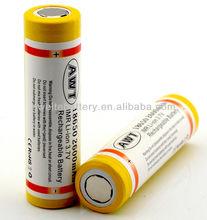 Shenzhen manufacturer 3.7V 2600mAh CR123A li-ion battery for stun-gun