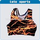 customized lightning sports bra sports tank top/Crop Top