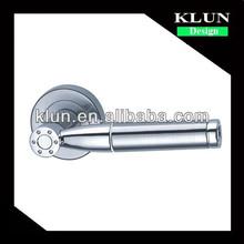 Zinc rosette door lock handle for interior door NO.1-866