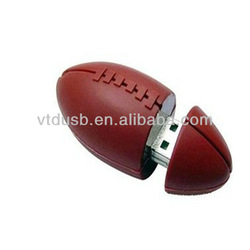 2014 Alibaba China gift rugby ball pen USB drive/flash drive 2.0 new products