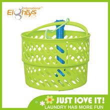 handle plastic basket storage plastic laundry basket