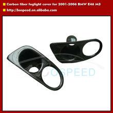 carbon fiber fog light cover for 2001-2006 BMW E46 M3