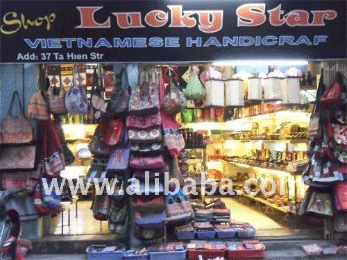 Vietnamita de la artesanía tradicional de tienda