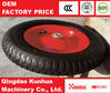 Hot sale small rubber wheels from China 3.50-8