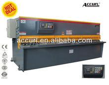 QC11Y hydraulic QC11Y-4*4000, scrap hard, aluminium sheet edging