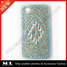 MLPC-0009 Hot sale fashion ethnic colorful phone case , blue