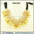 Collar de perlas barrocas, collar de perlas de joyería de fantasía, collar de perlas de diseños