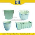 Pot de jardin en plastique/pots de fleurs de fabrication de moules, injection plastique moule usine