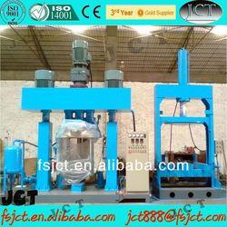 Vacuum multi-functional twin-shaft asphalt mixer