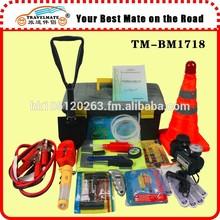 Auto roadside emergeny tool kit, auto safety kit