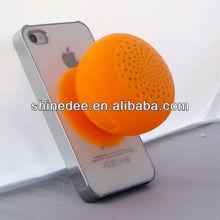 Mini silicone portable wireless bluetooth speaker for smartphone/netbook/ipad