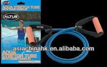 AQUA Stretch Tube With Foam Handles