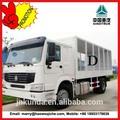 Sinotruk alargan 4 * 2 Howo camión de carga / camión de carga de transporte gratuito