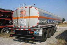3 AXLE OIL FUEL TANKER TRUCK TRAILER