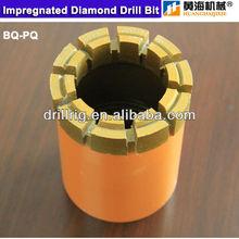 Impregnated diamond core bit I 1