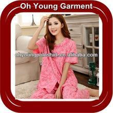 Cheap Factory Price Women Summer Pajamas